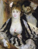 Pierre-Auguste Renoir - The Theatre Box (La Loge)