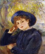 Pierre-Auguste Renoir - Portrait of Madamoiselle Demarsy