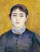 Pierre-Auguste Renoir - Young Woman Wearing Blue
