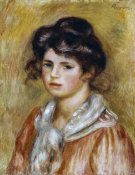 Pierre-Auguste Renoir - Young Girl With a White Handkerchief