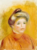 Pierre-Auguste Renoir - Head of a Woman