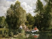 Pierre-Auguste Renoir - The Pond at Fees