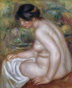 Pierre-Auguste Renoir - Seated Bather (Gabrielle)