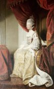 Sir Joshua Reynolds - Portrait of Queen Charlotte
