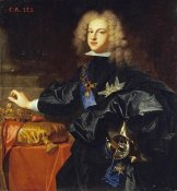 Hyacinthe Rigauld - Portrait of King Philip V of Spain