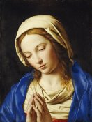 Giovanni Battista Salvi - The Madonna at Prayer