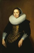 Bartholomeus Sarburgh - Portrait of a Lady