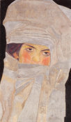 Egon Schiele - The Artists' Sister, Melanie