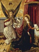 Martin Schongauer - The Annunciation