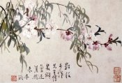 Li Shan - Willow and Peach Blossoms