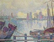 Paul Signac - Le Port De Volendam