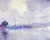 Paul Signac - Saint-Tropez, After The Storm