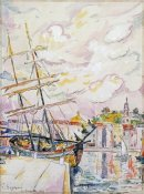 Paul Signac - Le Port De Saint-Tropez