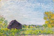 Alfred Sisley - The Windmill at Paille