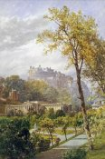 James Burrell Smith - A View of Princes Street Gardens and The National Gallery