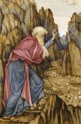 John Roddam Spencer Stanhope - The Vision of Ezekiel: The Valley of Dry Bones