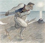 Theophile Steinlen - The Big Reaper