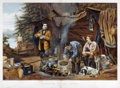 Arthur Fitzwilliam Tait - Camping In The Woods - a Good Time Coming