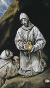 El Greco - Saint Francis and Brother Leo in Meditation