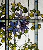 Tiffany Studios - Detail of a Clematis