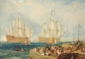 Joseph M.W. Turner - Plymouth Harbour: Towing In