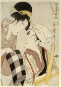 Kitagawa Utamaro - Portrait of Two Women