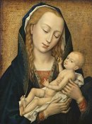 Rogier Van Der Weyden - Virgin and Child