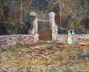 Vincent Van Gogh - Entrance To The Voyer-D'Argenson Park at Asnieres