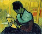 Vincent van Gogh - The Novel Reader, 1888