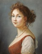 Elisabeth Vigée Le Brun - Portrait of Louisa, Queen of Prussia