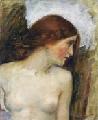 John William Waterhouse - Study For The Head of Echo