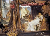 Sir Lawrence Alma-Tadema - The Meeting of Anthony and Cleopatra, 41 B.C