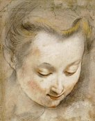 Frederico Barocci - The Head of a Woman