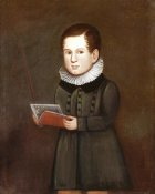 Zedekiah Belknap - Portrait of a Young Boy, Circa 1830