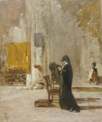 Mose Bianchi - A Lady Praying In Church