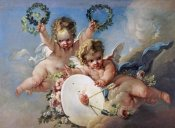 Francois Boucher - La Cible D'Amour (Love Target)