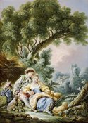 Francois Boucher - The Rest. Pensent-Ils a Ce Mouton?