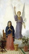 William-Adolphe Bouguereau - The Annunciation