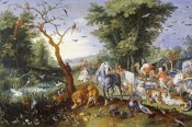 Jan Brueghel the Younger - Animals Entering Noah's Ark