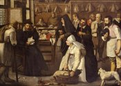 Pieter Bruegel the Elder - A Tax Office