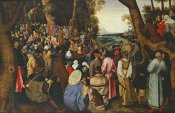 Pieter Bruegel the Elder - Saint John The Baptist Preaching