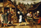 Pieter Bruegel the Elder - The Egg Dance