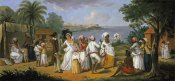 Augustin Brunais - Natives Dancing In The Island of Dominica