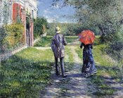 Gustave Caillebotte - The Path Uphill
