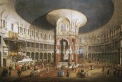 Giovanni Antonio Canal - The Interior of The Rotunda, Ranelagh