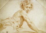 Annibale Carracci - A Boy Looking Over His Shoulder