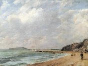 John Constable - A View of Osmington Bay, Dorset