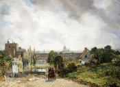 John Constable - View of The City of London