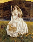 Frank Cadogan Cowper - The Damsel of The Lake