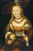 Lucas Cranach - Portrait of a Young Lady
